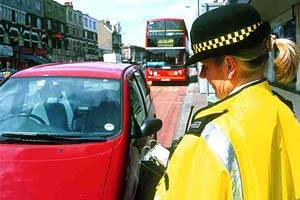 <br /> Traffic wardens as they used to be
