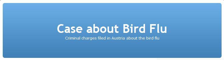 journalist jane burgermeister blog  case about bird flu