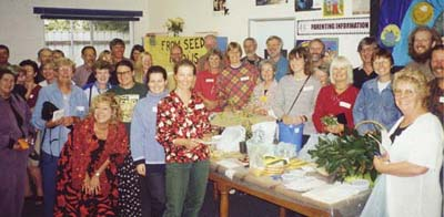 Happy Local Seed Savers in Adelaide show their spirits