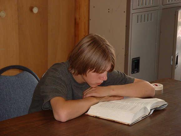 brandonreading ... who accepts apprentices to the teen wilderness adventure program.