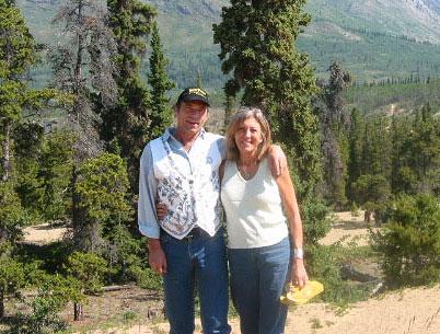 Ian and Matty in the Yukon